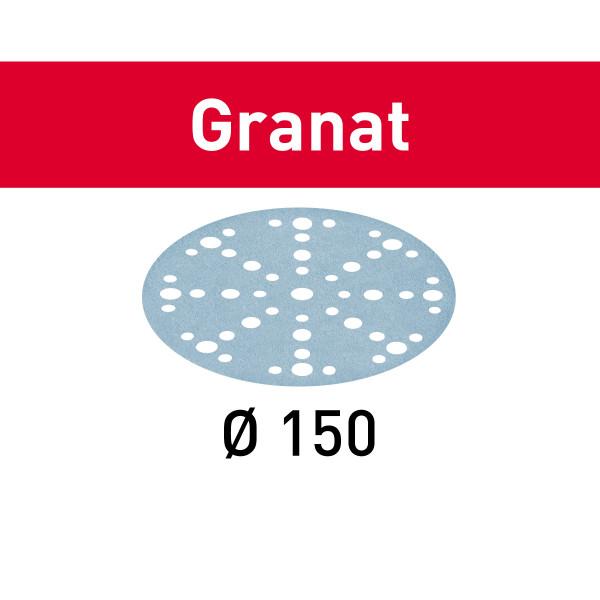 Festool Schleifscheibe Granat STF D150/48 P150 GR/100