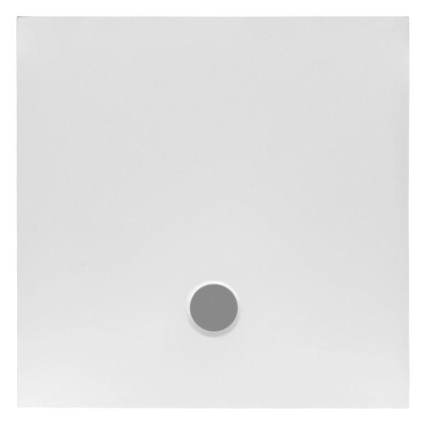 DK Stone plan Duschwanne 900x900x30mm, weiss inkl. flächenbündigem Ablauf, H60 mm