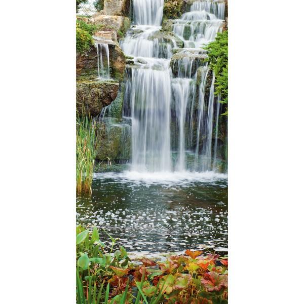 DK Rückwand Flat M in glanz oder matt | Wasserfall | Antibakterielle Oberfläche