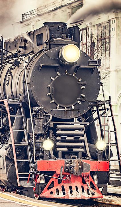 Dekor Eisenbahn (Flat E)