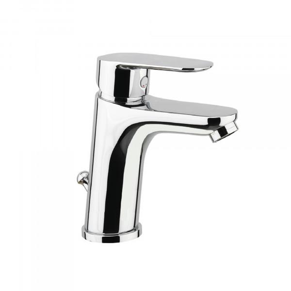 Einhebelmischer hoch | Waschbeckenarmatur chrom | Serie 255 | Auslauf 110 mm