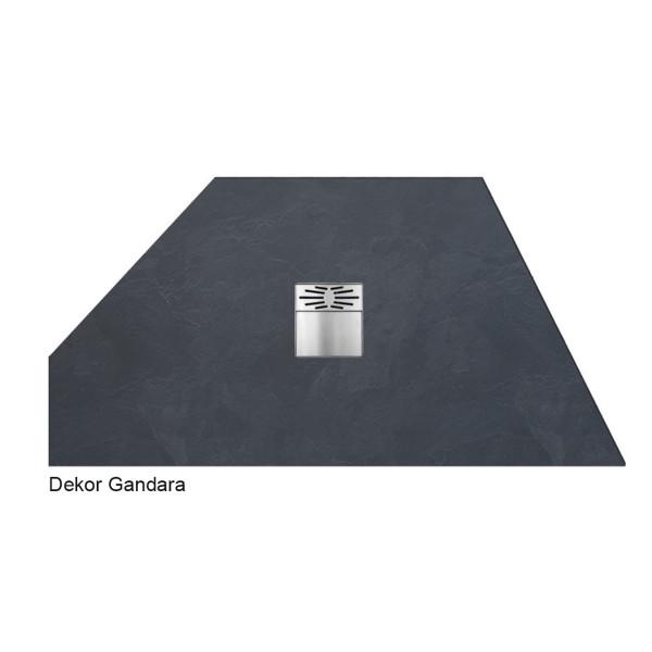 Flat Duschboard | Sonderform mit Ablaufpumpe | ebenerdige Duschwanne