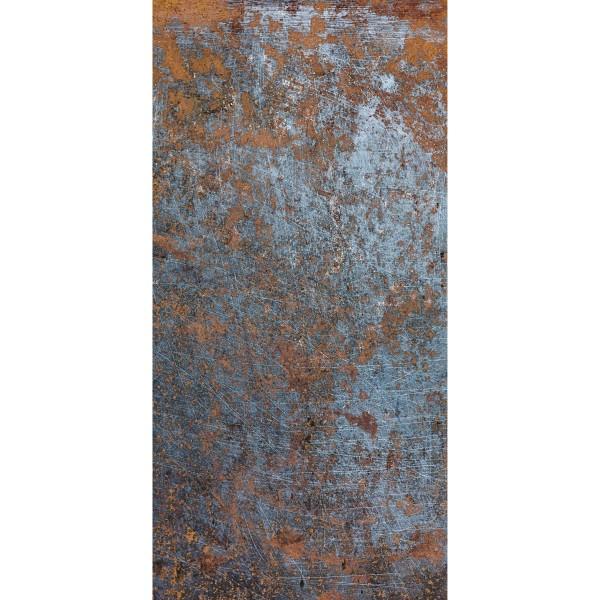 DK Rückwand Flat M in glanz oder matt   Rost   Antibakterielle Oberfläche