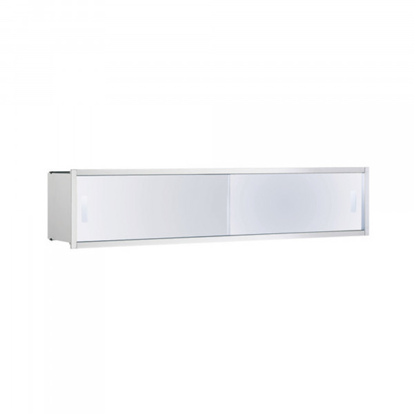 Asis UP Ablage-Modul | Chrom Rahmen | 800 mm | ohne LED