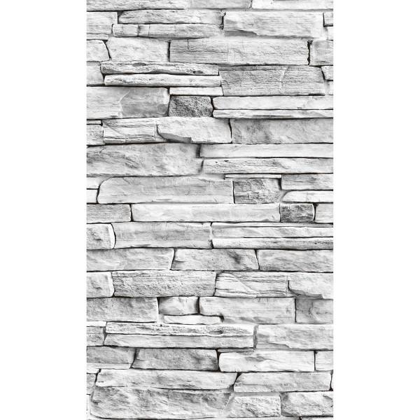 DK Rückwand Flat M in glanz oder matt | Naturstein Wand hell | Antibakterielle Oberfläche