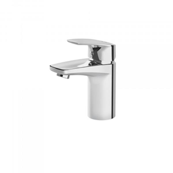 Gem Einhebelmischer | Waschtischarmatur chrom | 156 mm hoch | inkl. Ablaufgarnitur