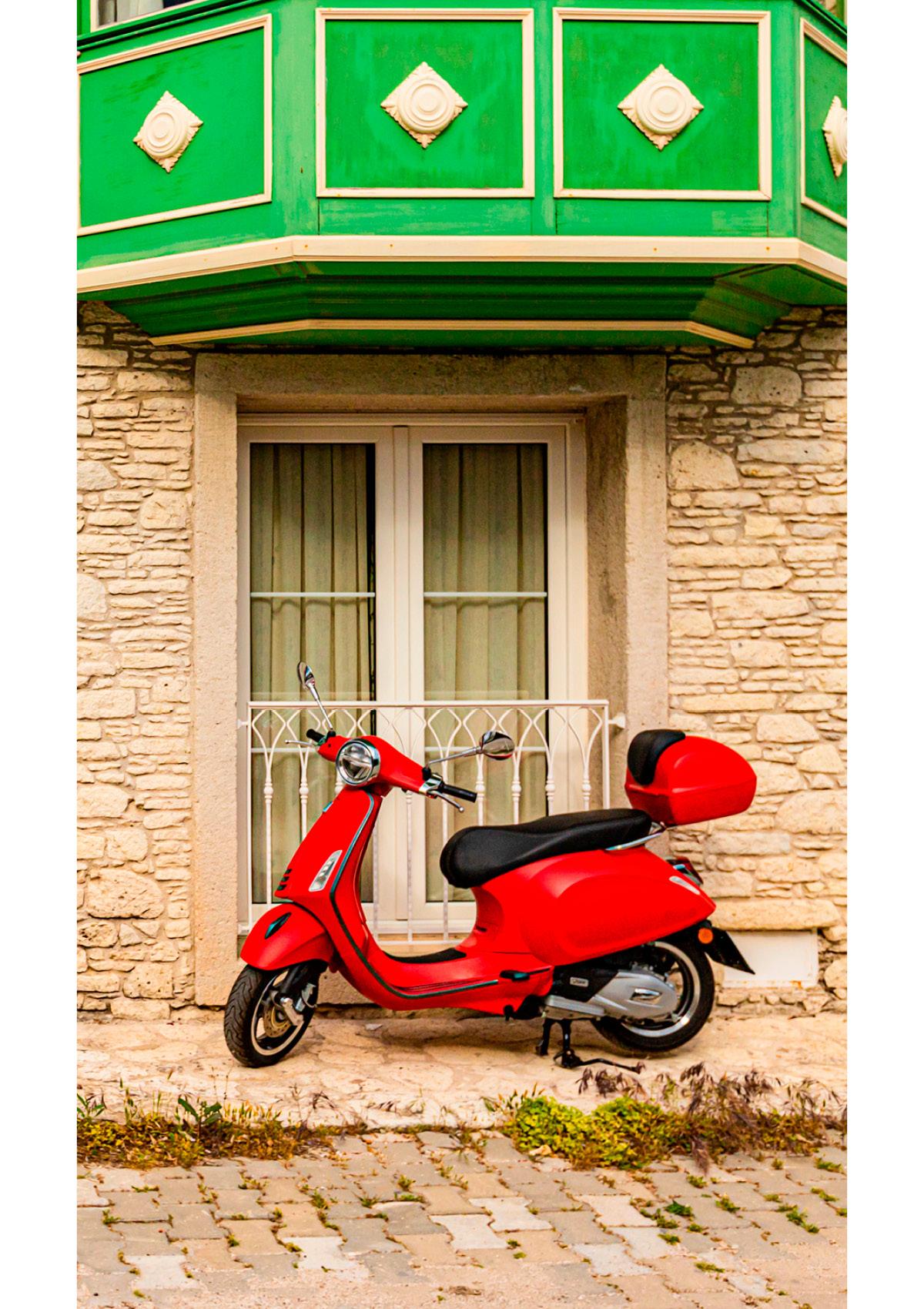 Dekor Roter Roller (Flat E)