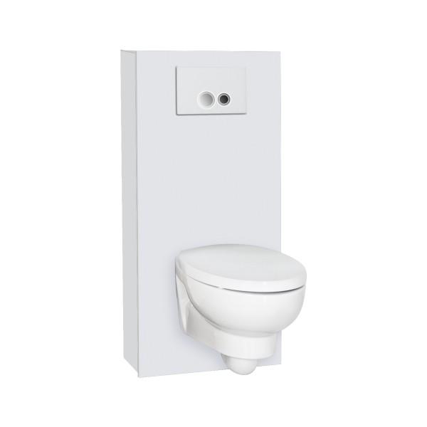WC Haube freistehend | weiss