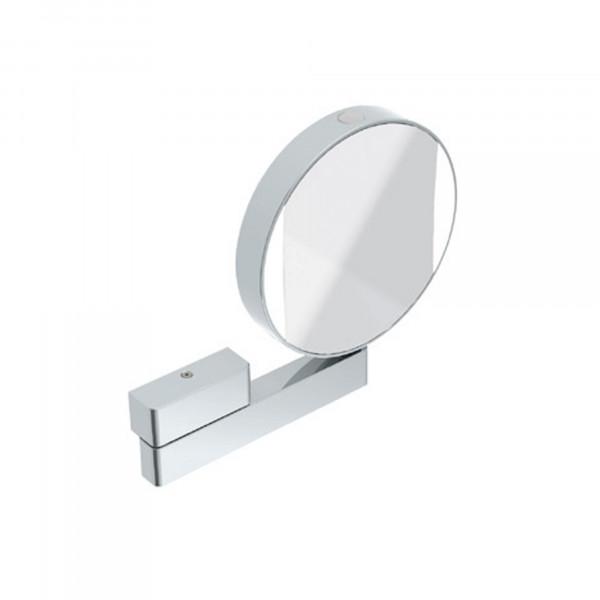 Emco LED Rasier- und Kosmetikspiegel | beidseitig verspiegelt | Festanschluss