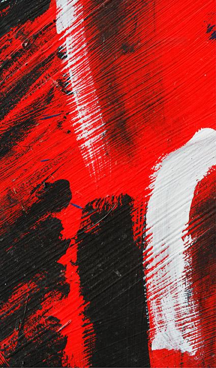 Dekor Abstrakt Rot (Flat E)