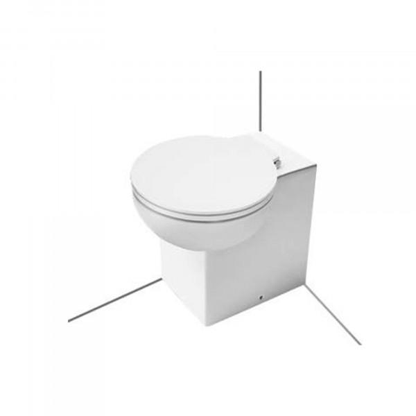 WC-Sitz mit Absenkautomatik, weiss