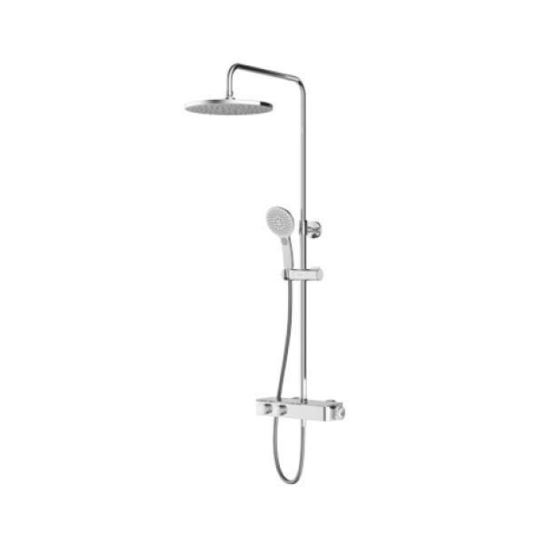 Inspire V2.0 Duschsäule mit Dusch-Thermostatmischer