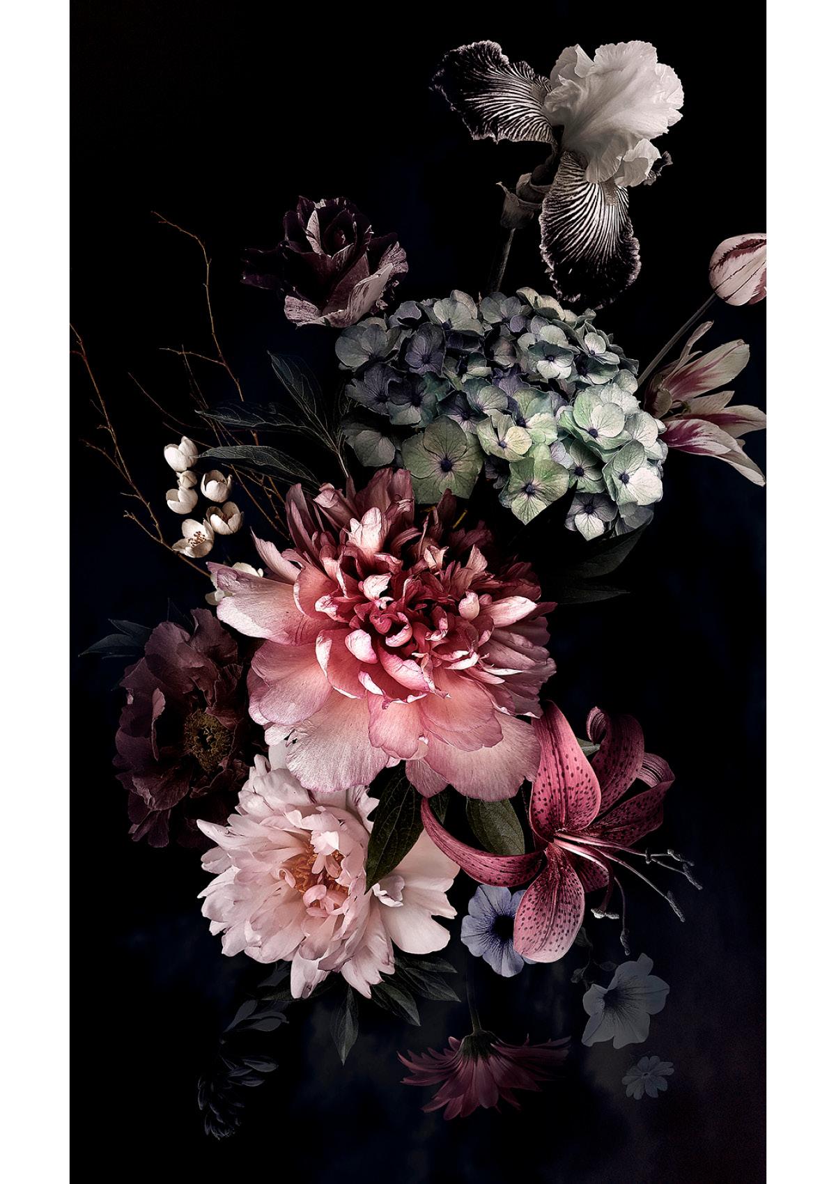 Dekor Retro Blume (Flat E)