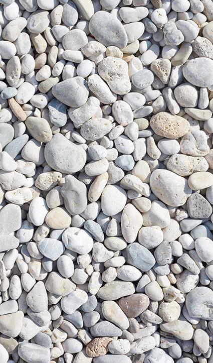 Dekor Bunte Steine (Flat E)