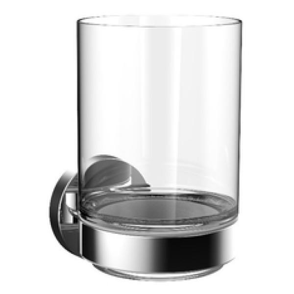 emco round Glashalter | Glas satiniert