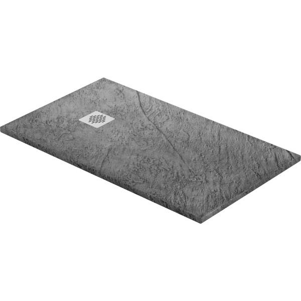 DK Duschwanne Rock 1400 x 1000 mm stahl