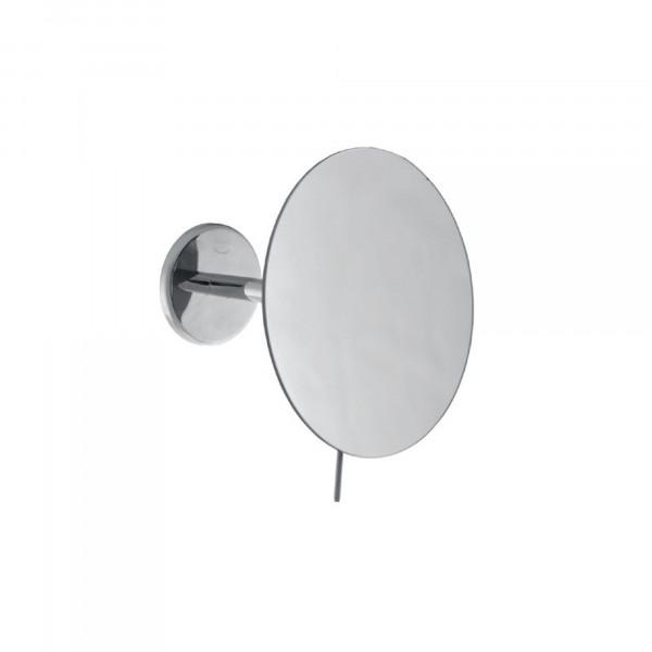 Rasier- und Kosmetikspiegel Ø180 mm | einarmig