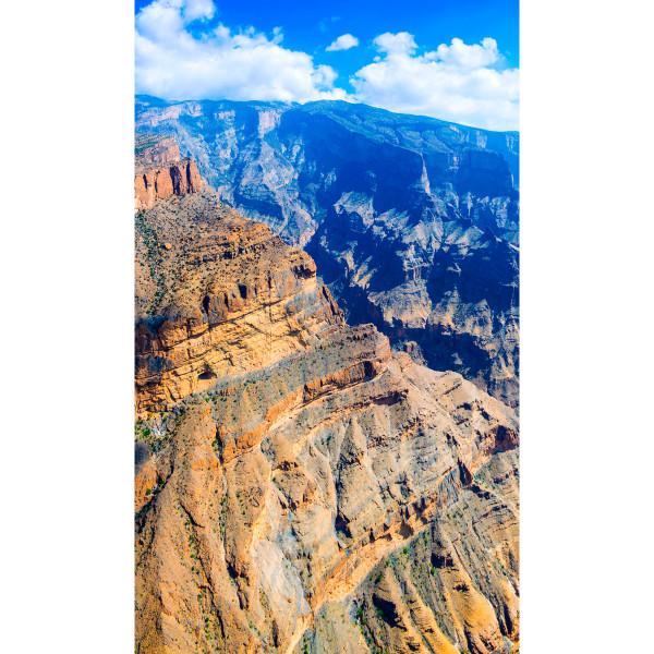 DK Rückwand Flat E Canyon | Dekor: einseitig