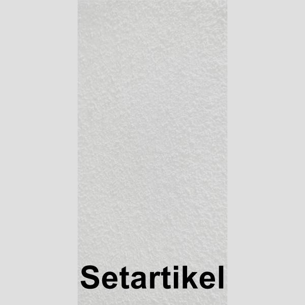 DK Rückwand Flat P Kalkputz weiss SET 3050x1500x3mm Putztechnik: einseitig