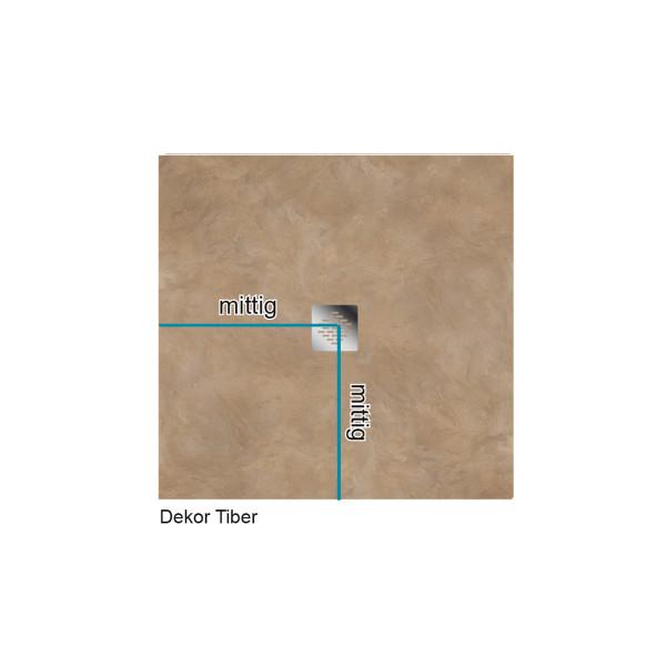 Flat Duschboard | Nach Maß - Rechteck | Punktablauf | ebenerdige Duschwanne