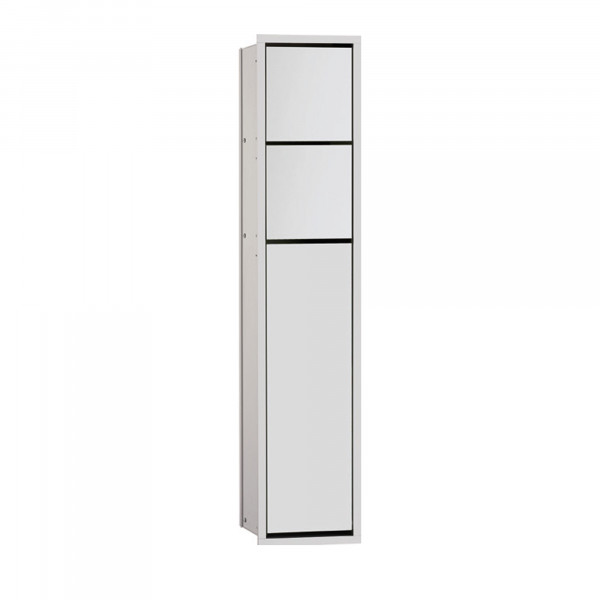 Asis 150 Unterputz WC-Modul mit Alufront| Tür Links