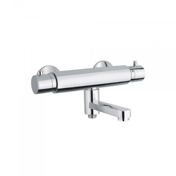Wannen-Thermostatmischer mit schwenkbarem Auslauf  Badewannenarmatur   Serie 255