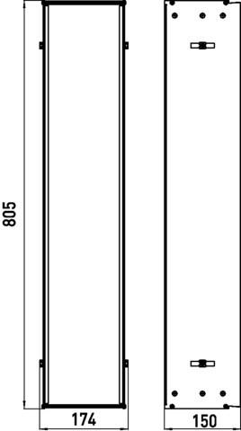 Unterputz Einbaurahmen - Serie Asis | für UP-Module