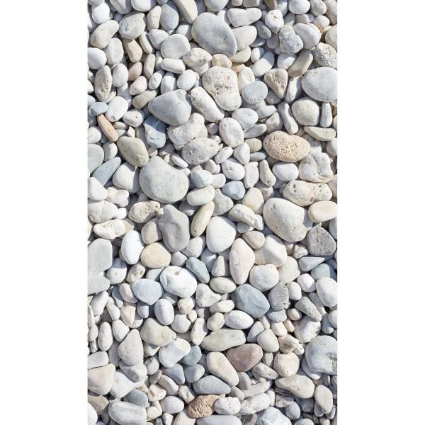 DK Rückwand Flat M in glanz oder matt   Bunte Steine   Antibakterielle Oberfläche