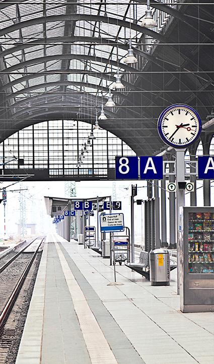 Dekor Bahnhof (Flat E)