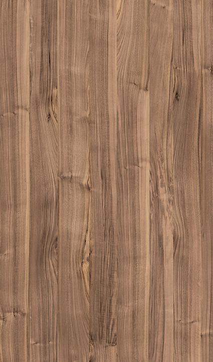 Dekor Nussbaum grau (Flat E)