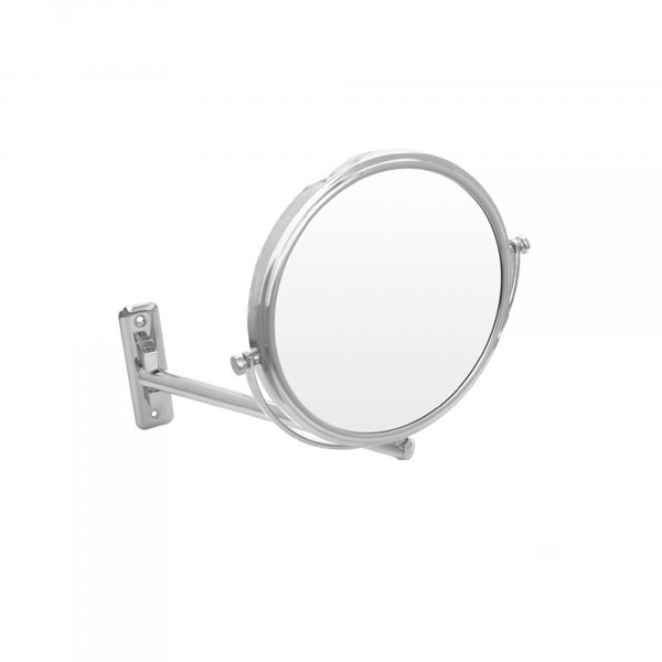 Rasier- und Kosmetikspiegel Ø 190 mm | einarmig