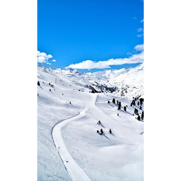 DK Rückwand Flat E Snowtime| Dekor: einseitig