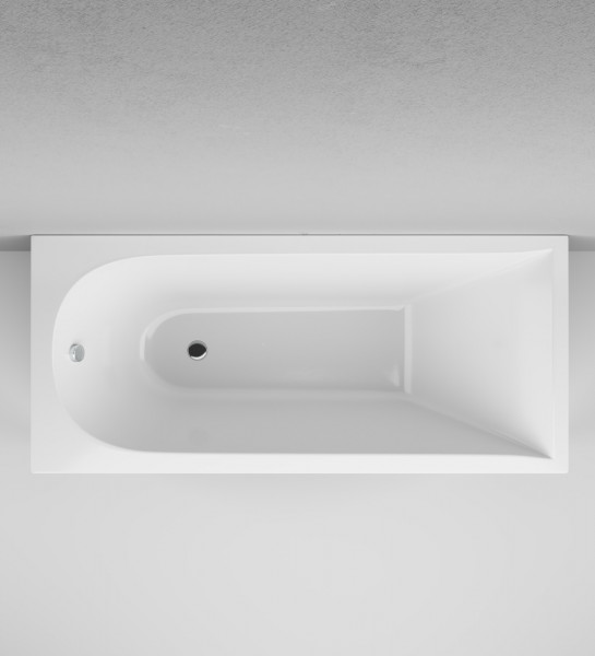 Inspire V2.0 Rechteck-Badewanne   Acryl Wanne   1700 x 750 mm   weiss