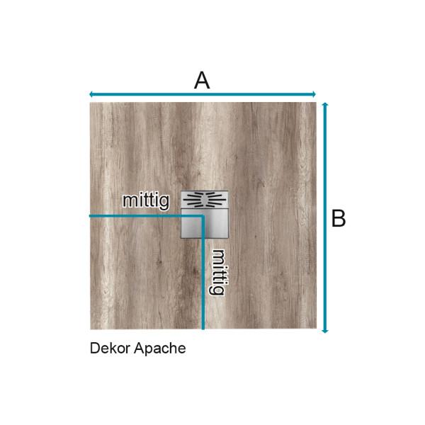 Flat Duschboard | Standardmaß mit Ablaufpumpe| ebenerdige Duschwanne