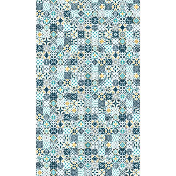 DK Rückwand Flat E Mosaik 1 / Retrofliese | Dekor: einseitig