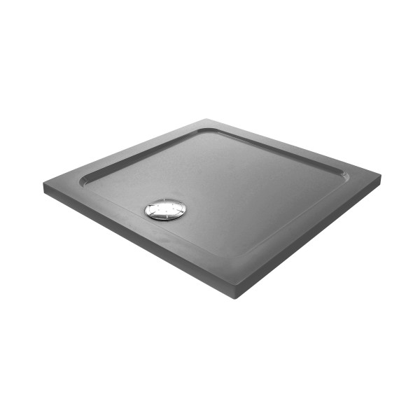 DK Duschwanne Stone D. Color 900 x 900 mm | dunkler-Granit Code: UPB