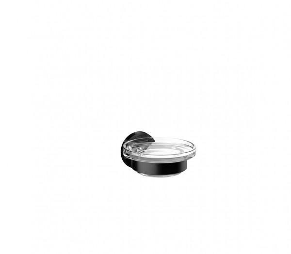 emco round Seifenhalter | Glas satiniert