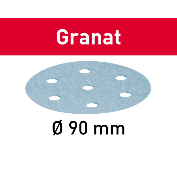 Schleifscheibe Granat STF D90/6 P800 GR/50