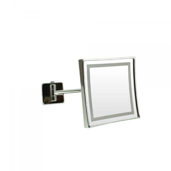 LED Rasier- und Kosmetikspiegel   einarmig   Festanschluss