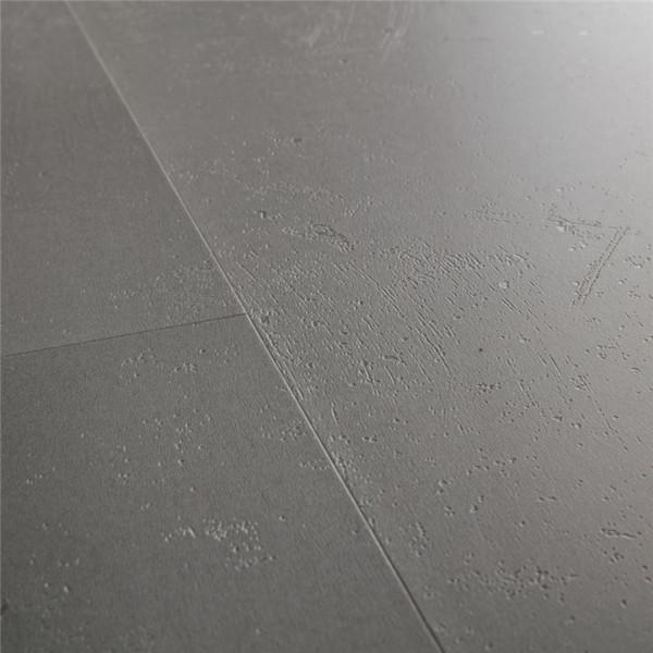 Klick Vinyl Steindekor mittelgrau Fliesen