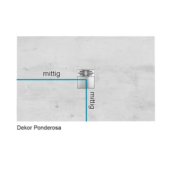 Flat Duschboard | Nach Maß - Rechteck mit Ablaufpumpe | ebenerdige Duschwanne