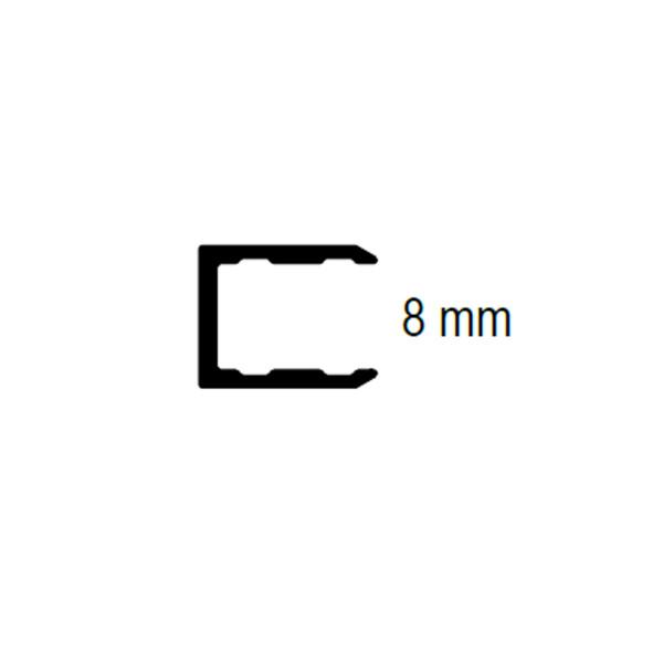 Proline Aluminium Abschlussprofil