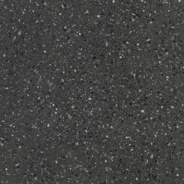 DK Rückwand Flat S Terrazzo dunkel Perl   3050x1320x3mm   Dekor: beidseitig   Antibakterielle Oberfl