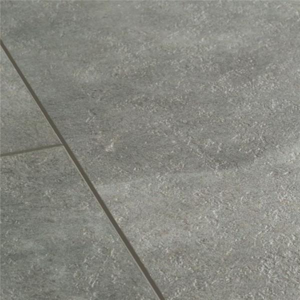 Klebe-Vinyl Boden Designboden Beton dunkelgrau | Steindekor
