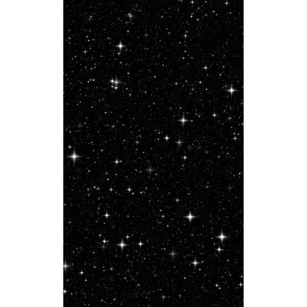 DK Rückwand Flat M in glanz oder matt   Sternenhimmel   Antibakterielle Oberfläche