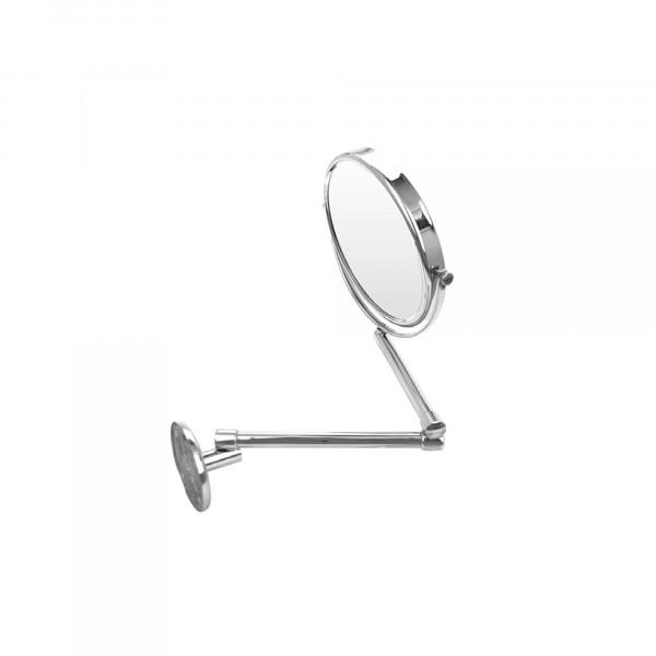 Rasier- und Kosmetikspiegel |zweiarmig | Ø 190 mm