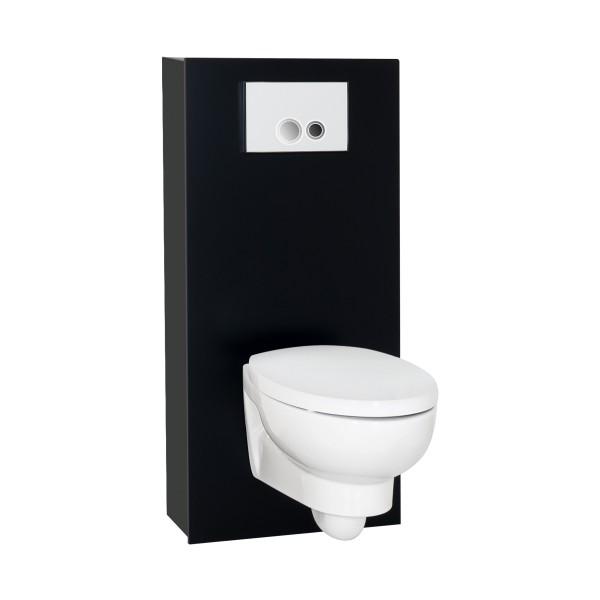 WC Haube freistehend | schwarz