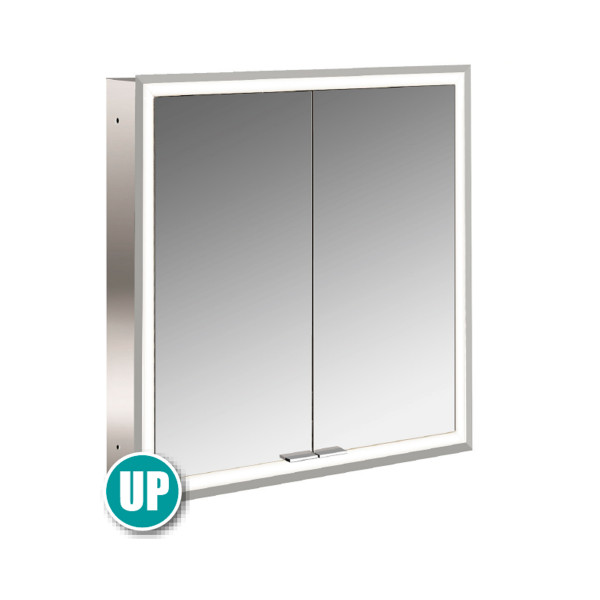 Emco Prime LED Spiegelschrank mit 2 Türen Unterputz | Beleuchtung umlaufend