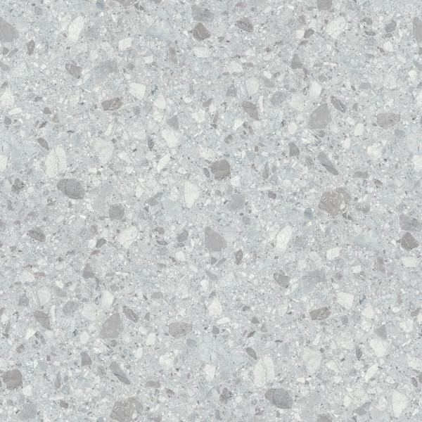 DK Rückwand Flat S Terrazzo hell Perl | 3050x1320x3mm | Dekor: beidseitig | Antibakterielle Oberfl