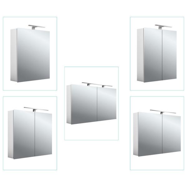 Emco LED-Lichtspiegelschrank | Aufputz | Serie Mee